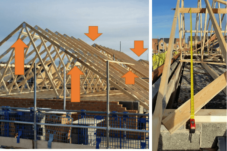 Gable Restraints more than 2m spacing